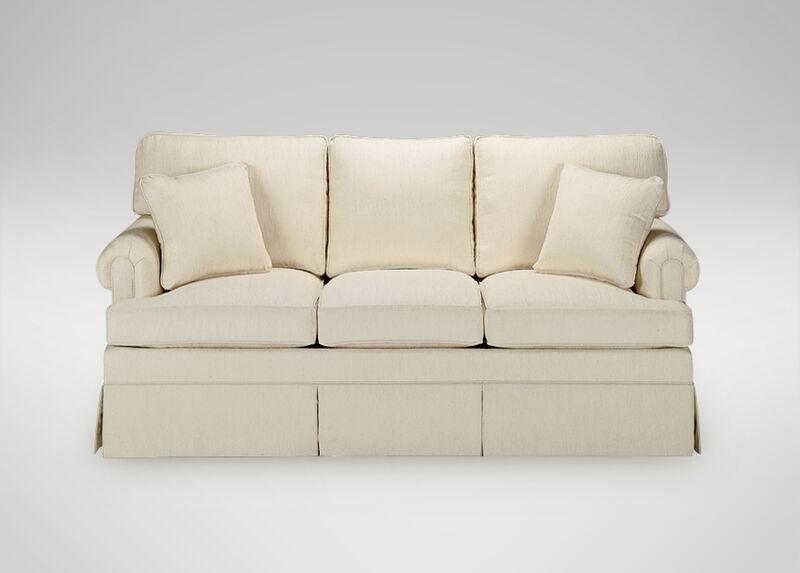 Paramount Panel-Arm T-Cushion Sofa ,  , large_gray