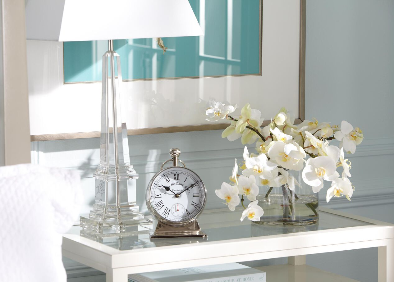 Leslie Crystal Table Lamp | TABLE LAMPS | Ethan Allen