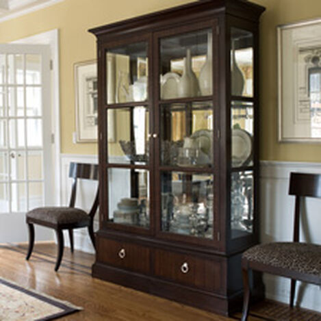 China Cabinets Amp Hutches Dining Room Cabinets Ethan Allen