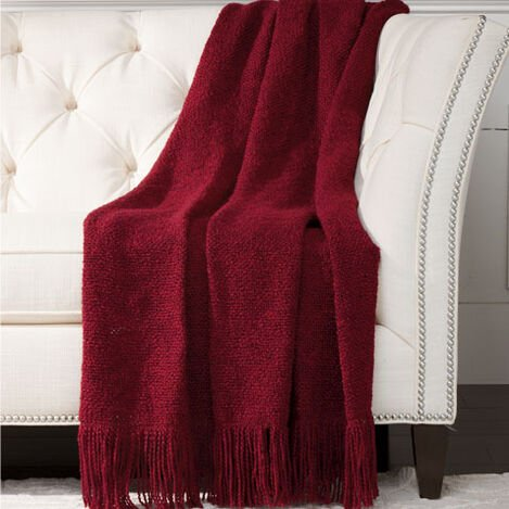 Serene Throw, Wine ,  , large
