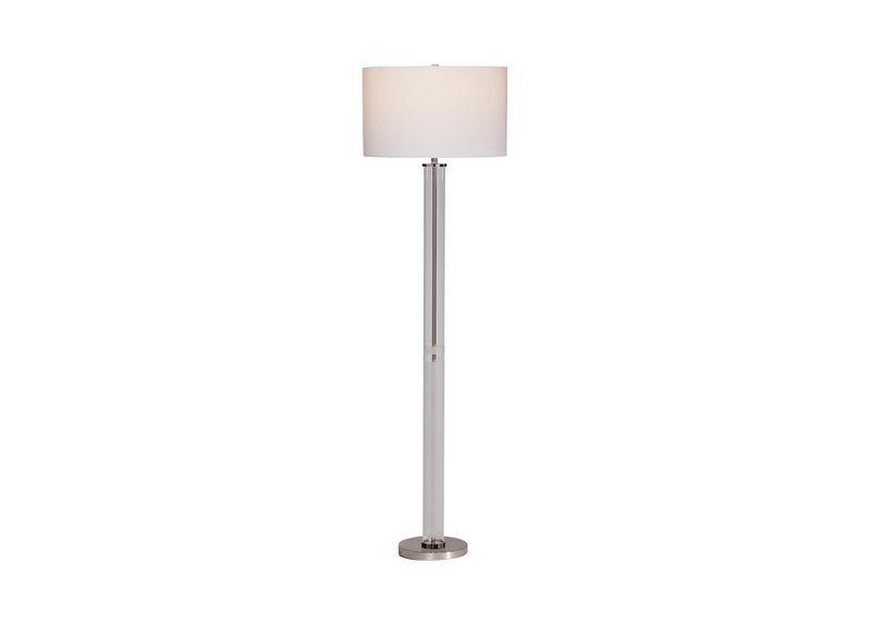 Fallon Glass Floor Lamp