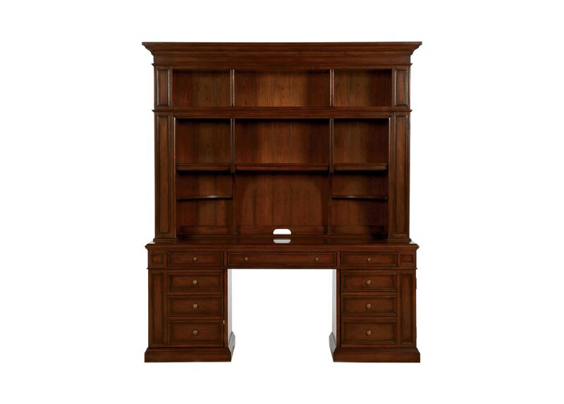 Buckley Executive Desk and Bookcase