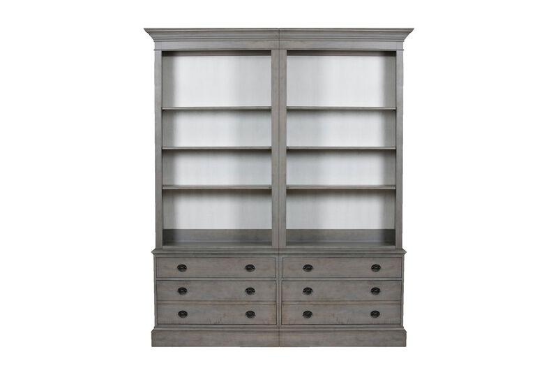 Villa Double File Bookcase