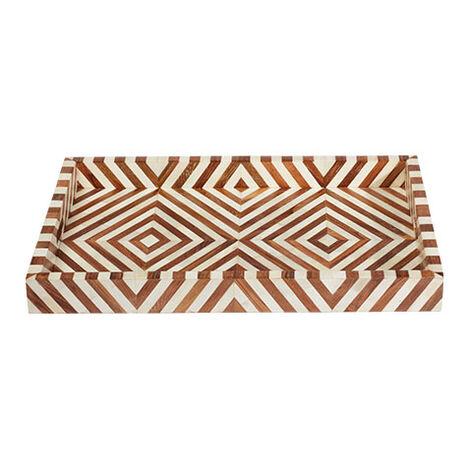 Ellis Wood and Bone Tray Product Tile Image 432417