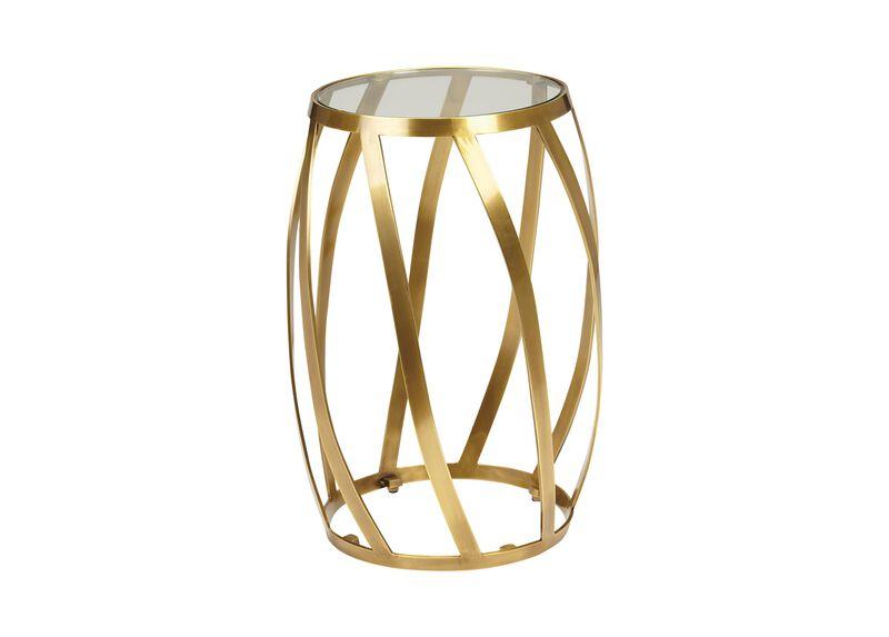Brass Twist Table