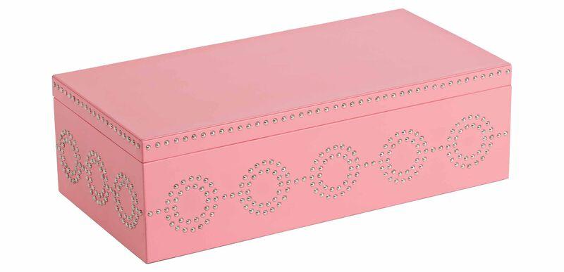 Coral Nail Deco Box