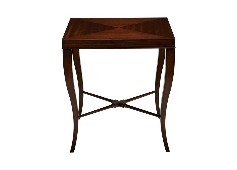 Gracie End Table, Dark Sable