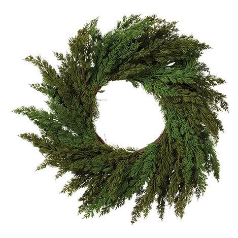 """30"""" Cedar Wreath Product Tile Image 442238"""