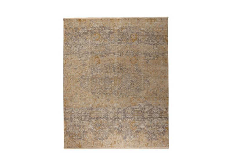 Oslo Rug, Gold/Grey