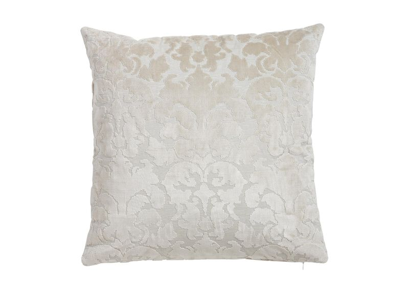 Cut Velvet Damask Pillow