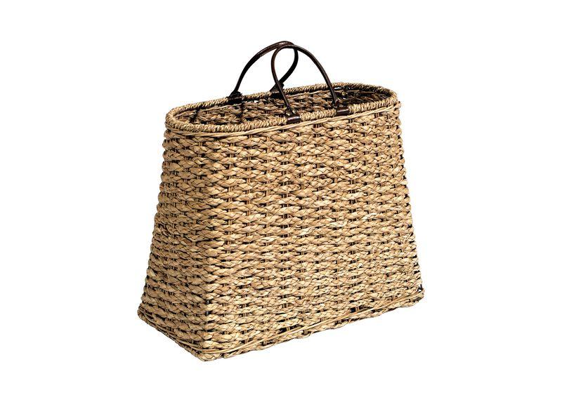 Bayong Oval Storage Bag ,  , large_gray