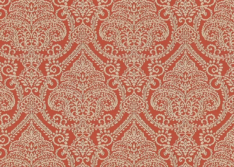 Lexi Coral Fabric by the Yard