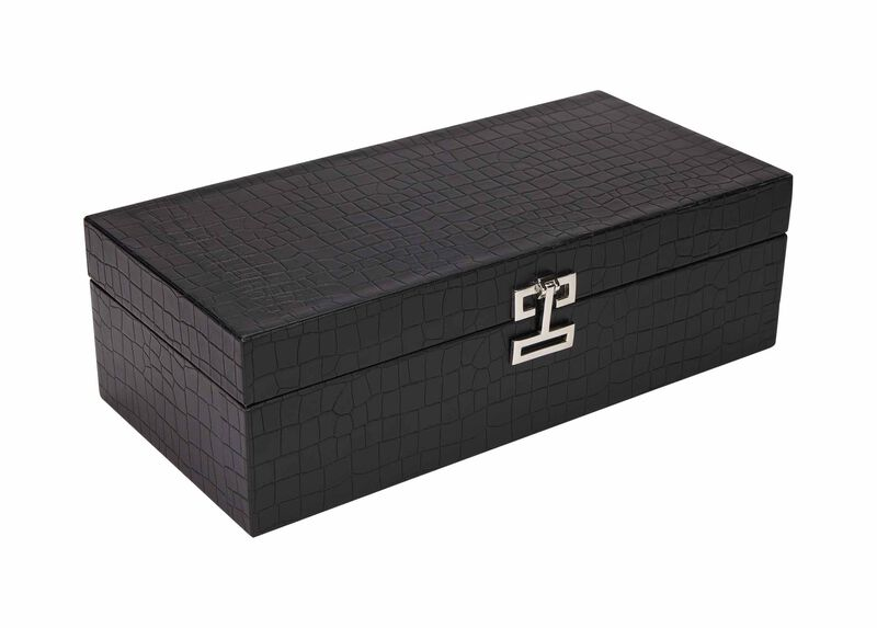 Black Croc Box