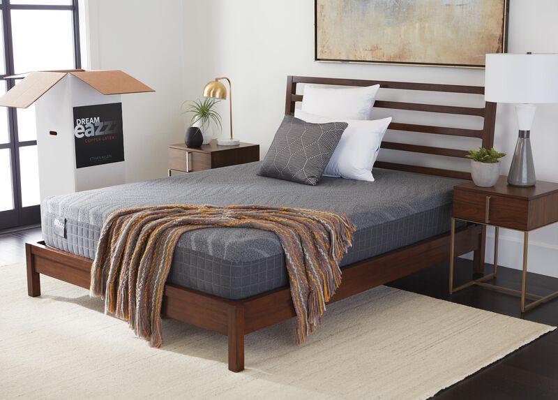 Terrific Dream Eazzz Copper Latex Mattress Ethan Allen Mattresses Camellatalisay Diy Chair Ideas Camellatalisaycom
