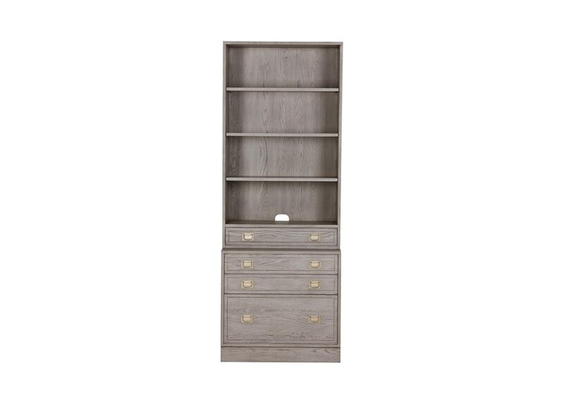 Callum Single File Bookcase