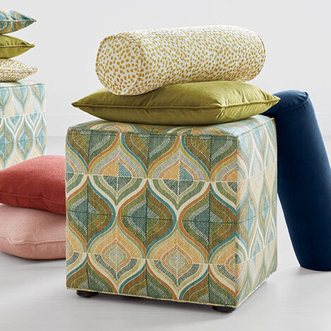 Kendrick Cube Ottoman Product Tile Hover Image G01000