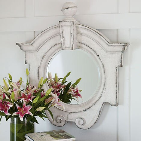 Antique White Gisele Mirror Product Tile Hover Image 074430A