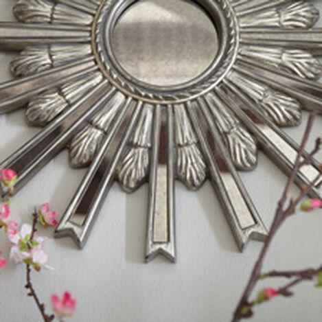 "20"" Silver Starburst Mirror ,  , hover_image"