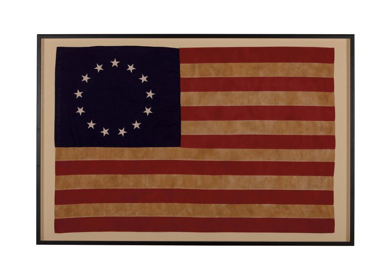 Vintage Betsy Ross Flag ,  , large_gray