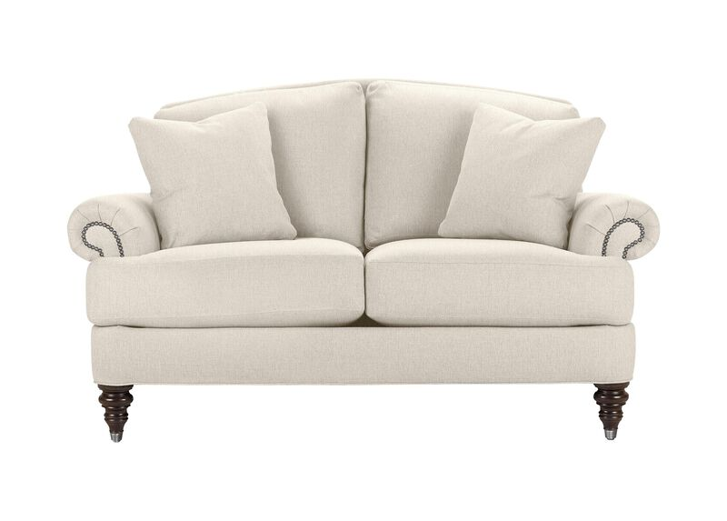 Hyde Sofa, Quick Ship , Hailey Ivory (Q1032), solid texture , large_gray