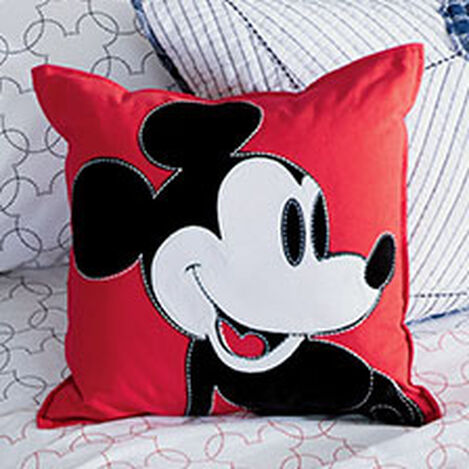 Color Block Mickey Mouse Pillow, Mickey's Shorts ,  , hover_image