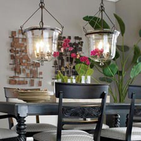 Glass Cloche Chandelier ,  , hover_image
