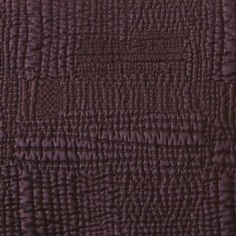 Beet Rice Stitch Kantha Quilt and Shams Product Tile Hover Image RiceStitchBeet