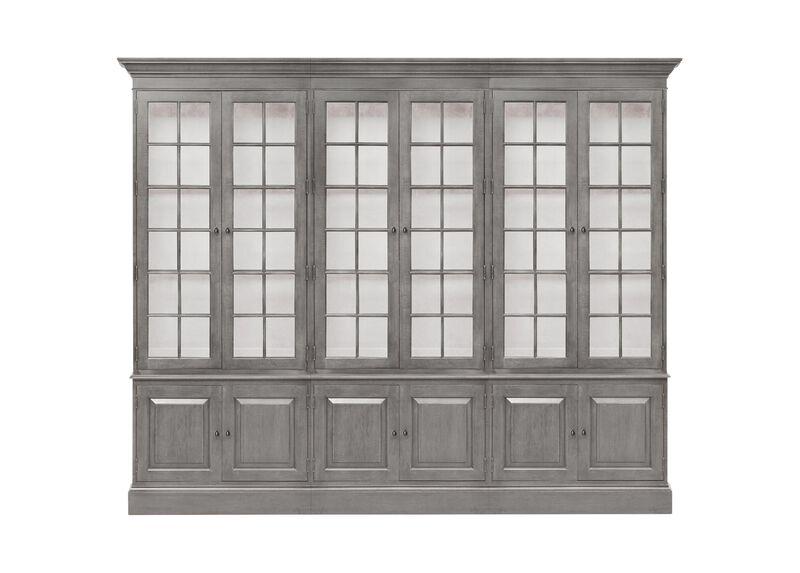 Villa Triple Library Bookcase ,  , large_gray