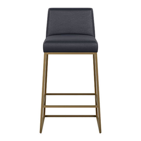 Jewel Metal Base Leather Counter Stool Product Tile Image 712513