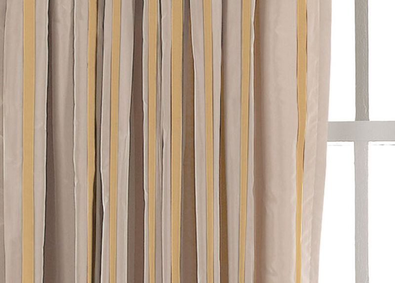 Pearl Taffeta Stripe Fabric by the Yard
