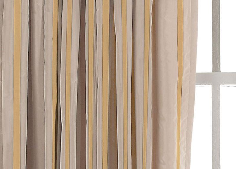 Pearl Taffeta Stripe Fabric by the Yard