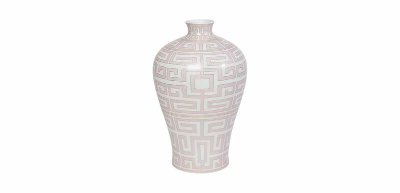 Pink Athena Jar