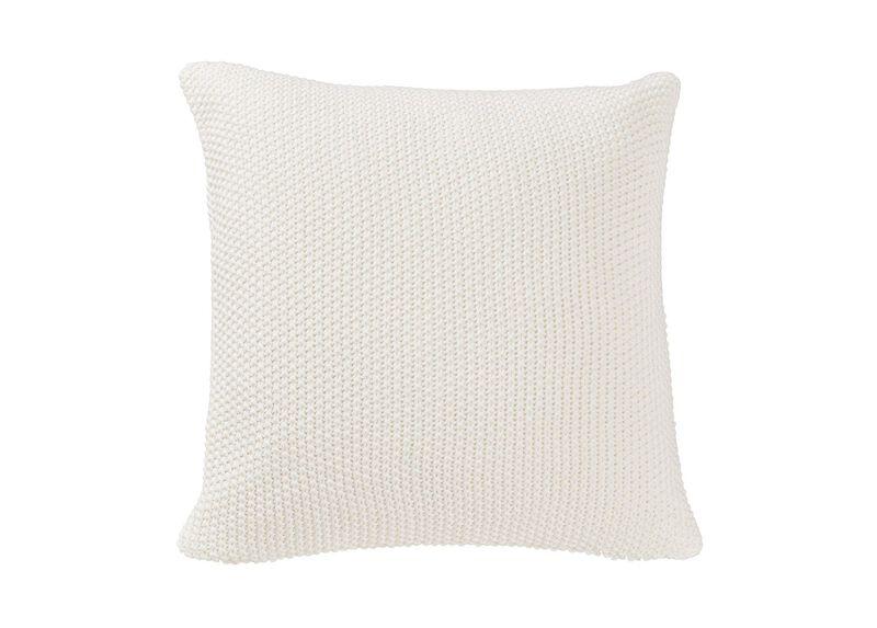 Moss Stitch Knit Pillow