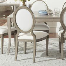 Lindsay Side Chair : dining table sets with fabric chairs - pezcame.com