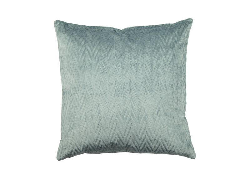 Chevron Velvet Pillow