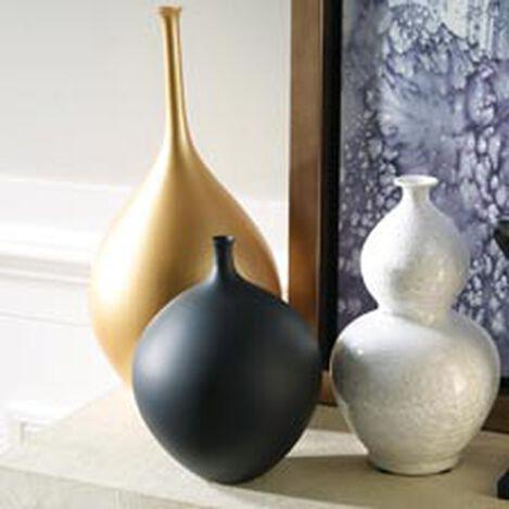Issa Round Black Vase Product Tile Hover Image 431808