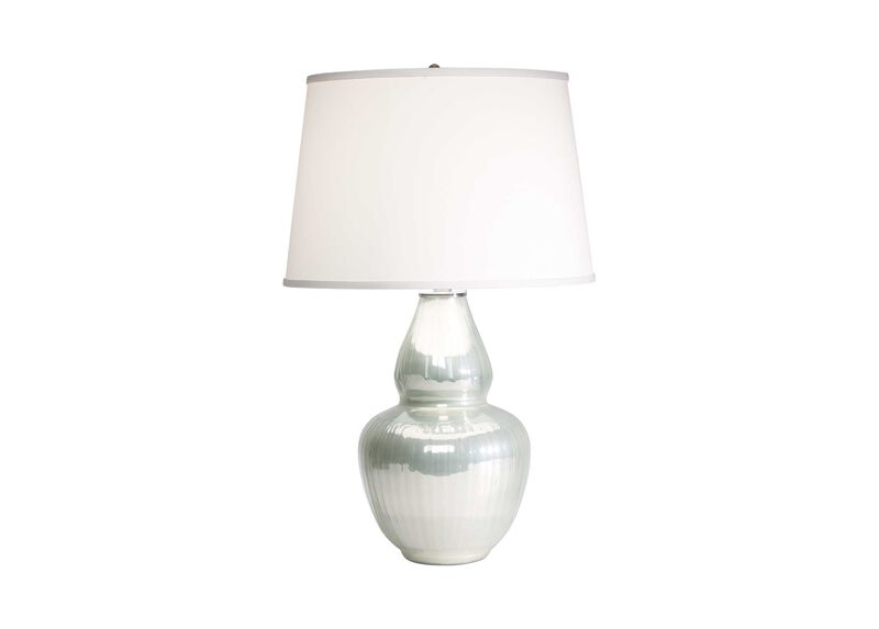 Iridescent Gourd Table Lamp ,  , large_gray