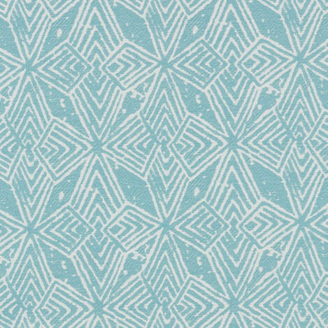 Balinese Azure Fabric By the Yard Product Tile Image P3381