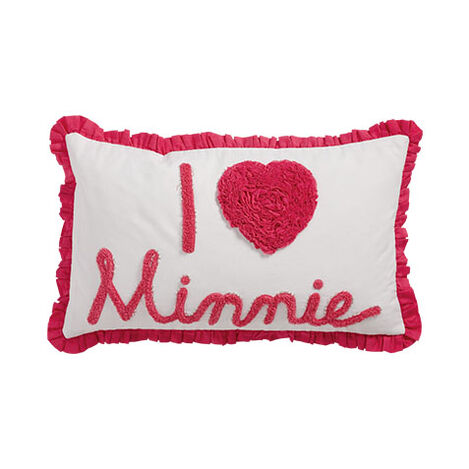 Really Ruffle Minnie Boudoir Pillow, Minnie Pink Product Tile Image 035630   MPK