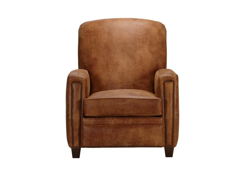 Dean Leather Recliner ,  , large_gray
