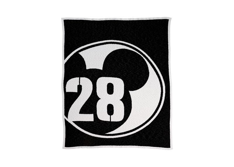 28 Varsity Knit Throw, Mickey's Ears