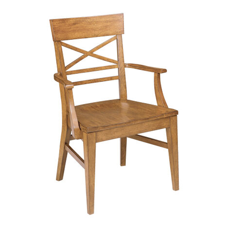 Blake Wood-Seat Armchair Product Tile Image 386501A