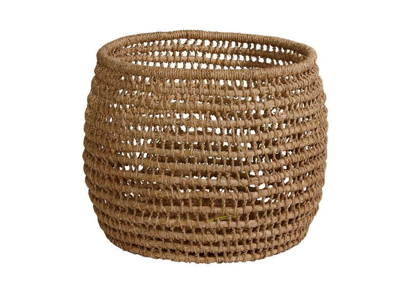 Large Handwoven Flo Basket ,  , large_gray