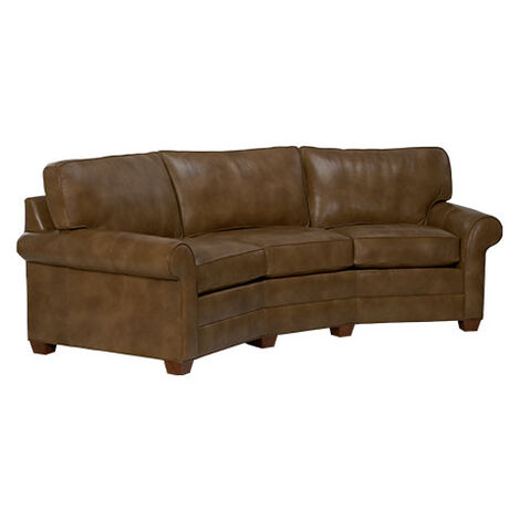 Bennett Conversation Leather Sofa Product Tile Hover Image 727877