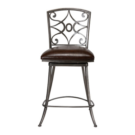 Baylor Swivel Counter Stool ,  , large