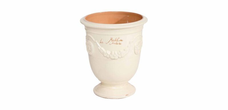 Anduze No.4 Ivory Planter