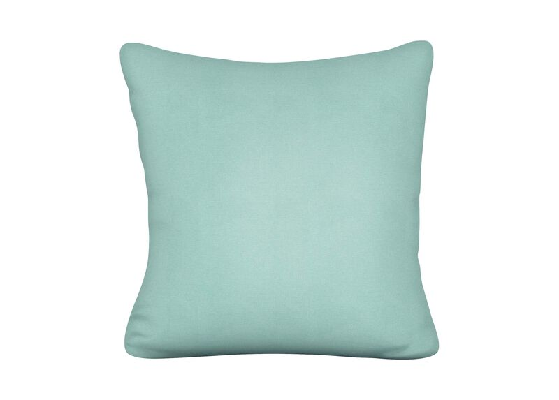Reale Turquoise Outdoor Pillow