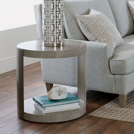 Braemore Round End Table Product Tile Hover Image 368203
