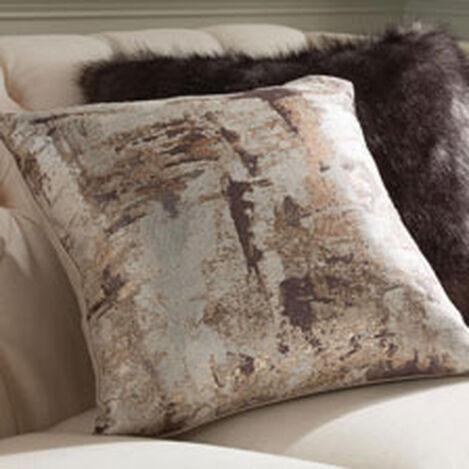 Melange Pillow, Mocha/Gold ,  , hover_image