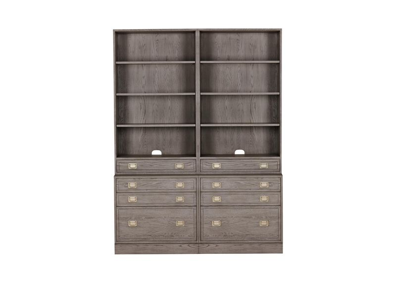Callum Double File Bookcase